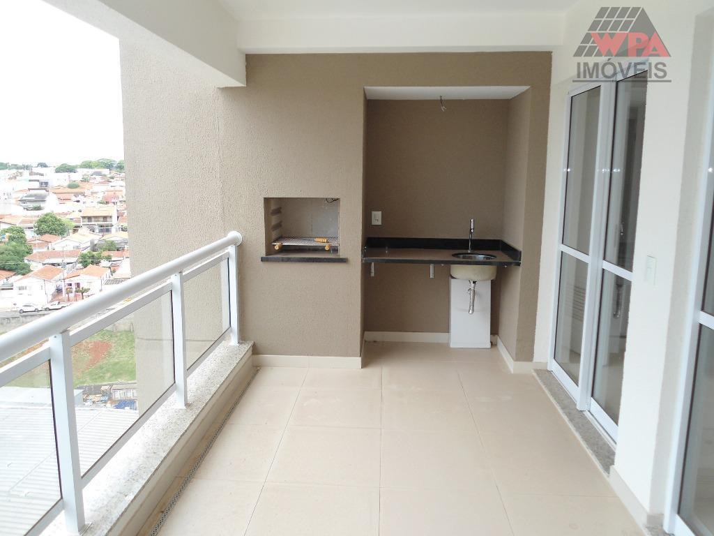 Apartamento residencial para venda e locação, Vila Frezzarin, Americana - AP1090.