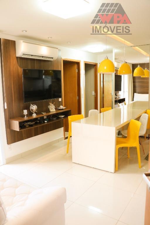 Apartamento residencial à venda, Catharina Zanaga, Americana - AP1253.