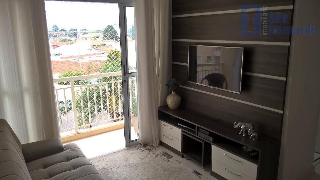 Apartamento  residencial à venda, Vila Omar, 100% Planejado, Americana.