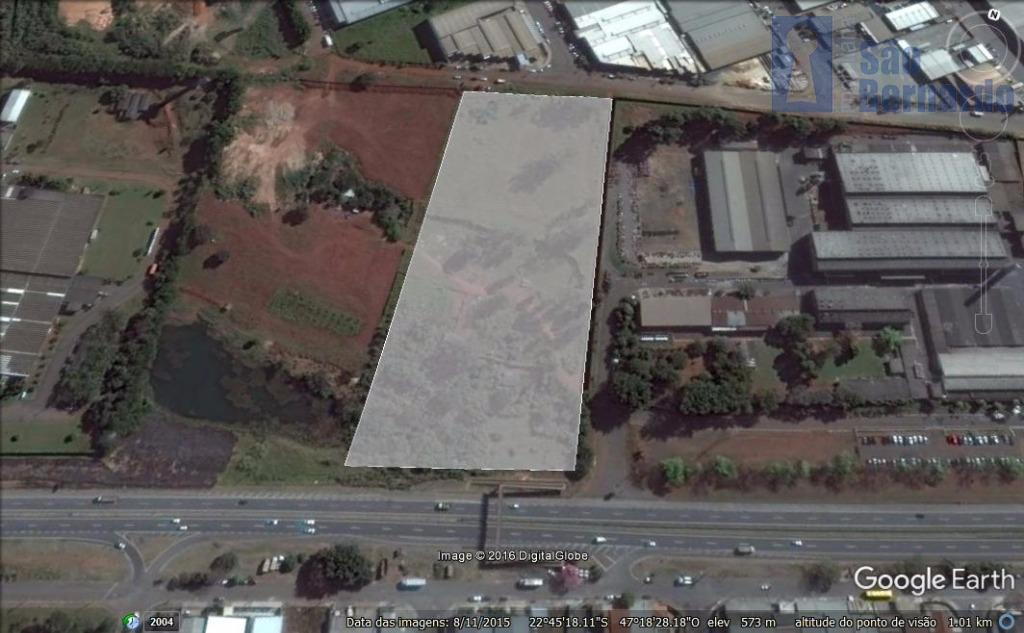 Área industrial à venda, Chácara Machadinho, Americana - AR0009.
