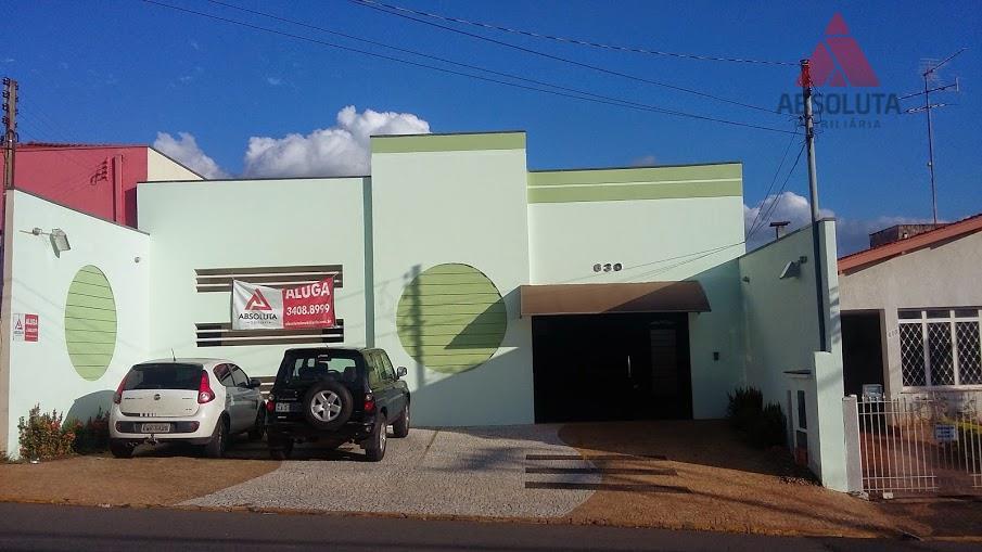 Casa comercial para venda e locação, Vila Nossa Senhora de Fátima, Americana - CA0372.