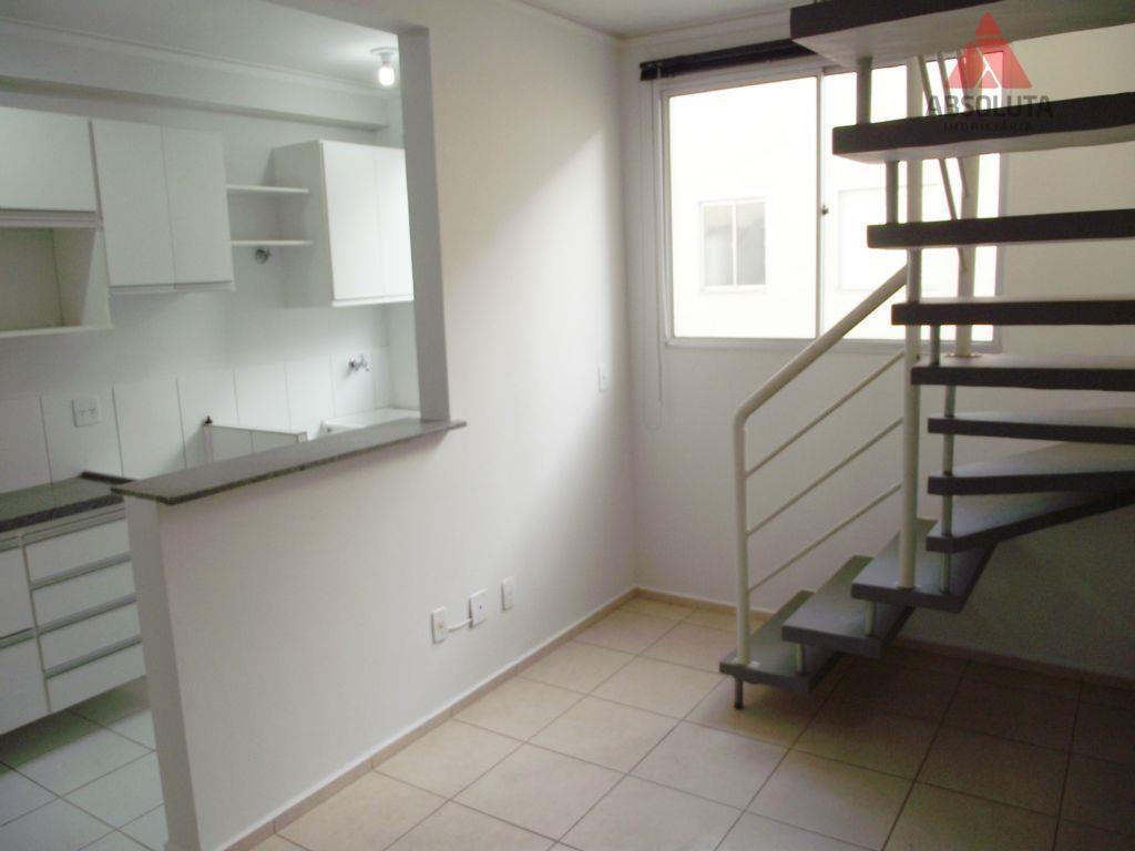 Apartamento  residencial para locação, Vila Omar, Americana.