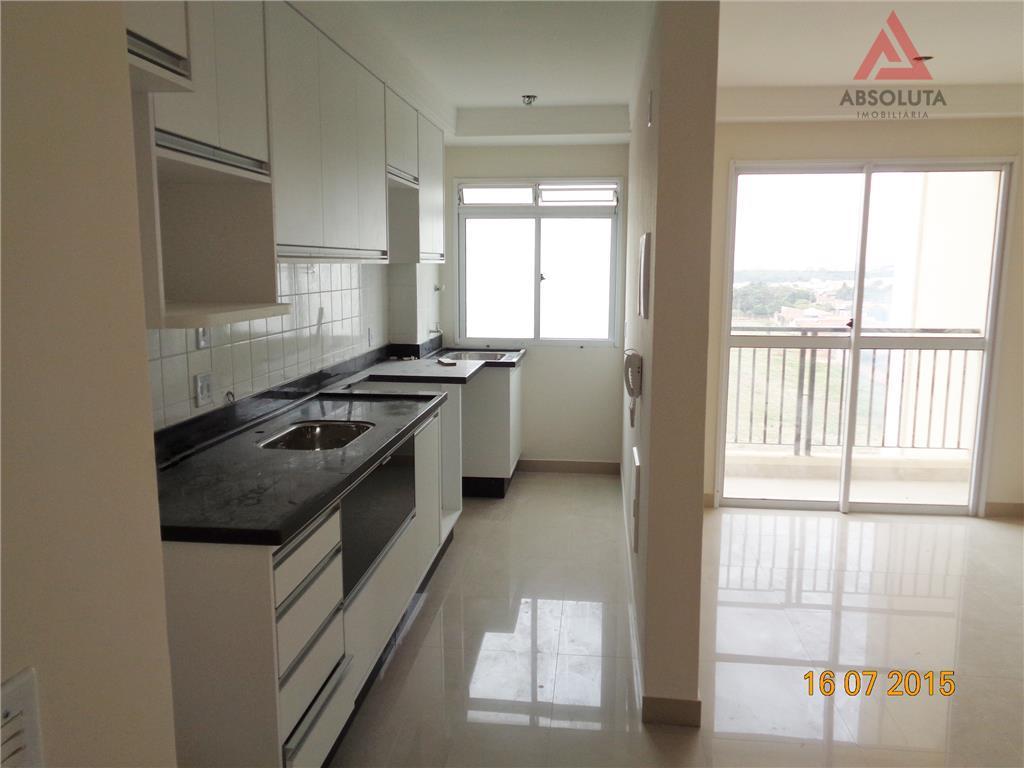 Apartamento  residencial para locação, Cariobinha, Americana.