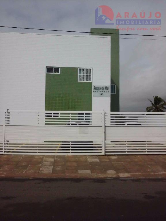 Apartamento residencial para locação, Recanto do Poço, Cabedelo.