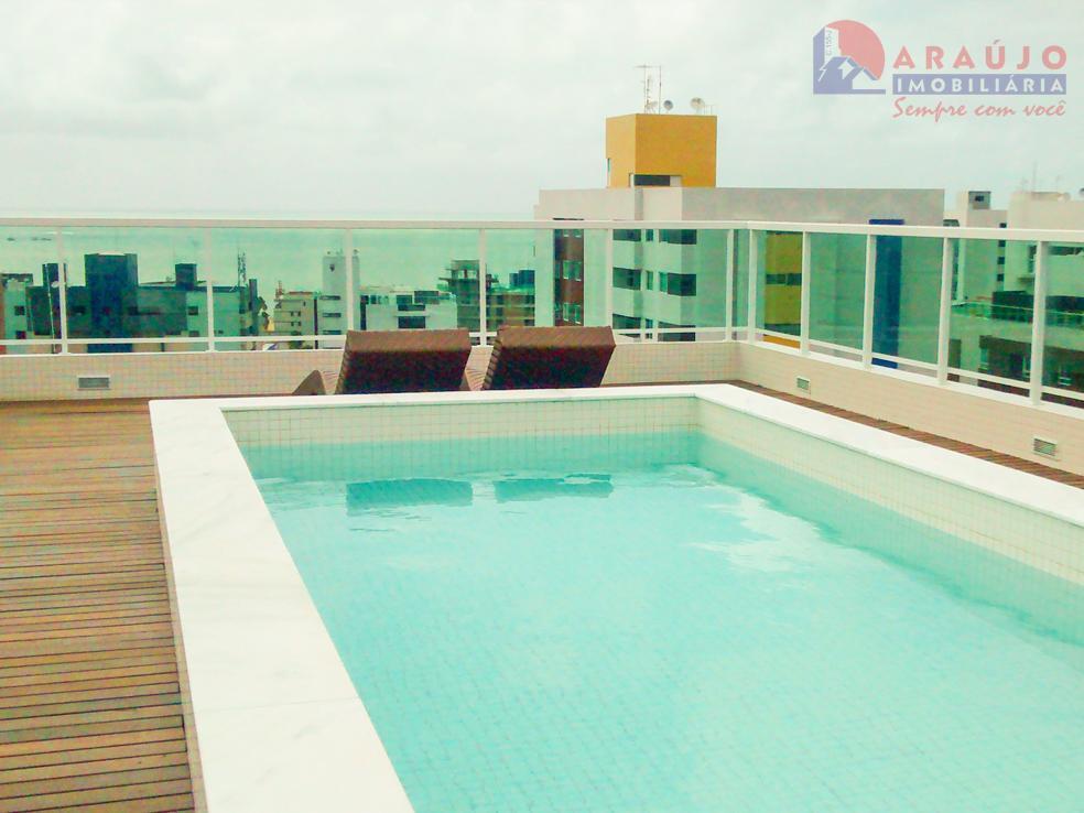 Flat residencial para venda e locação, Tambaú, João Pessoa.