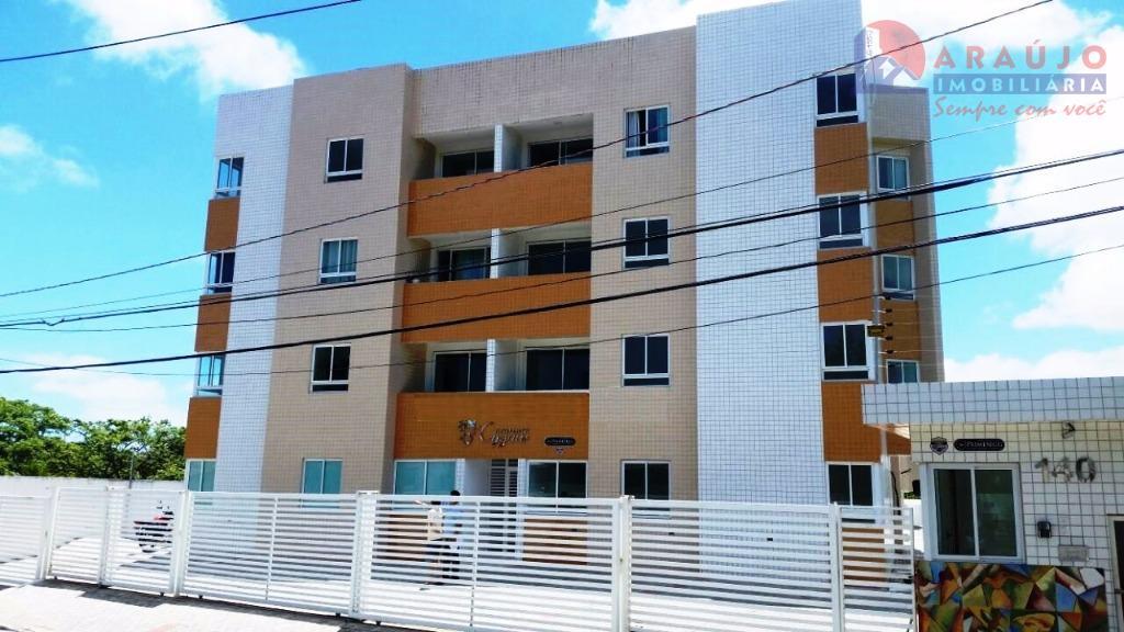 Apartamento residencial à venda, Bancários, João Pessoa - AP0390.