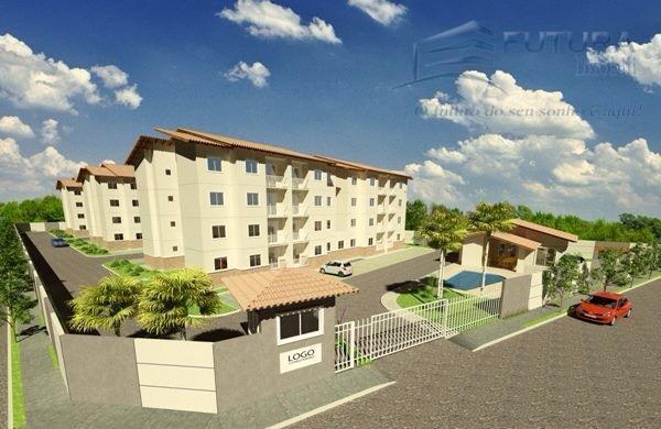Apartamento à venda em Pedras/Ancuri - R$ 132.000,00