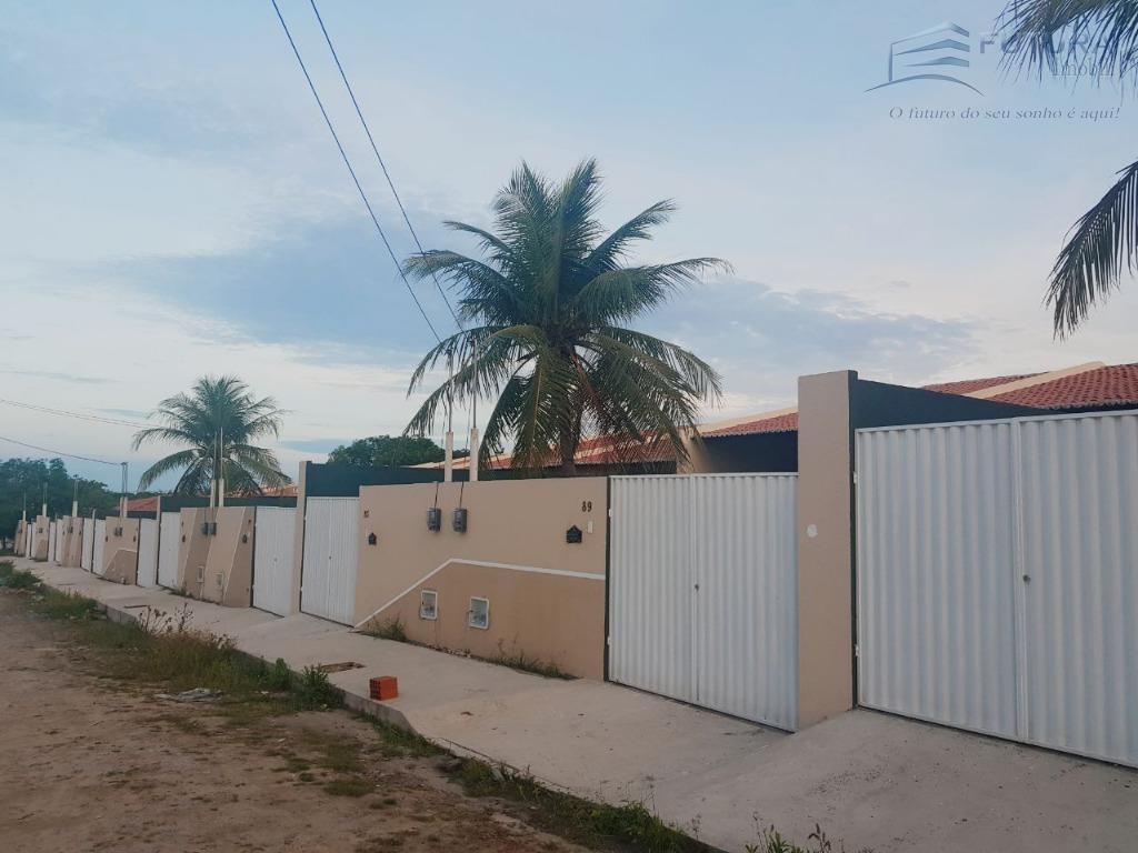 Casa residencial à venda, Guajiru, Caucaia.