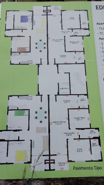 Apartamento residencial à venda, Dos Estados, Guarapuava.