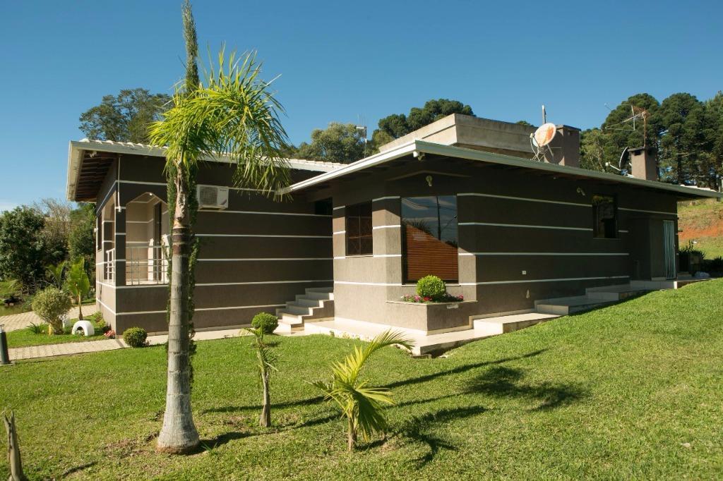 Casa residencial à venda, Morro Alto, Guarapuava.