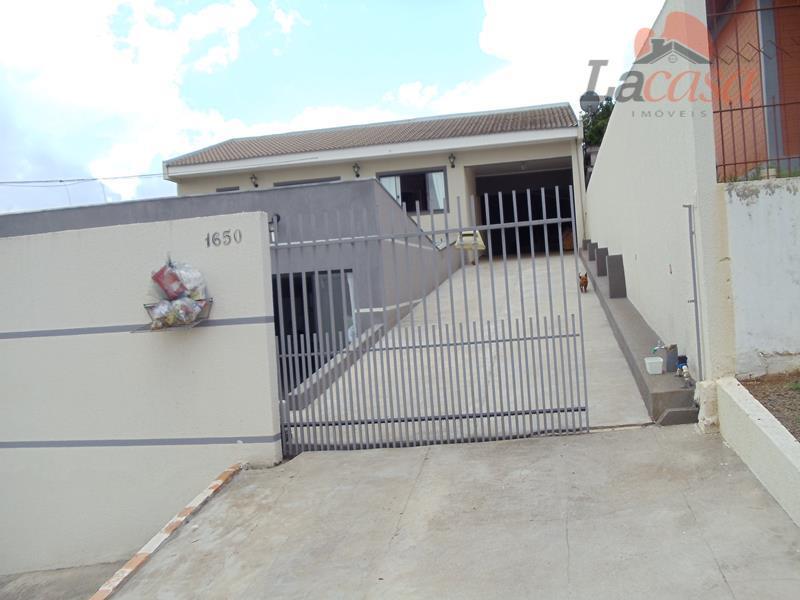 Casa residencial à venda, Dos Estados, Guarapuava.
