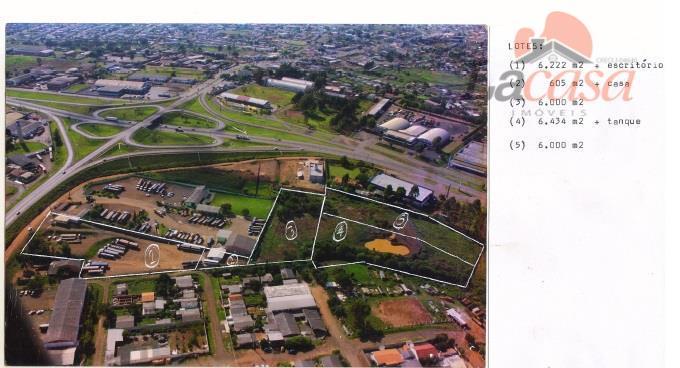 Terreno residencial à venda, Industrial, Guarapuava.