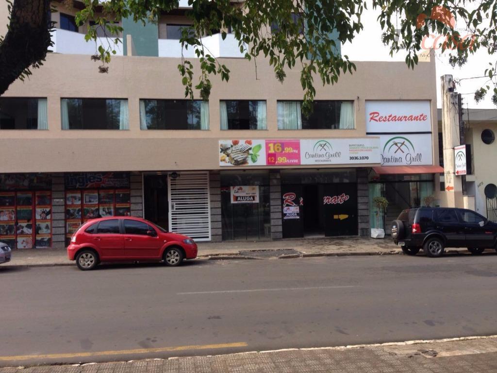 Sala comercial para locação, Centro, Guarapuava.