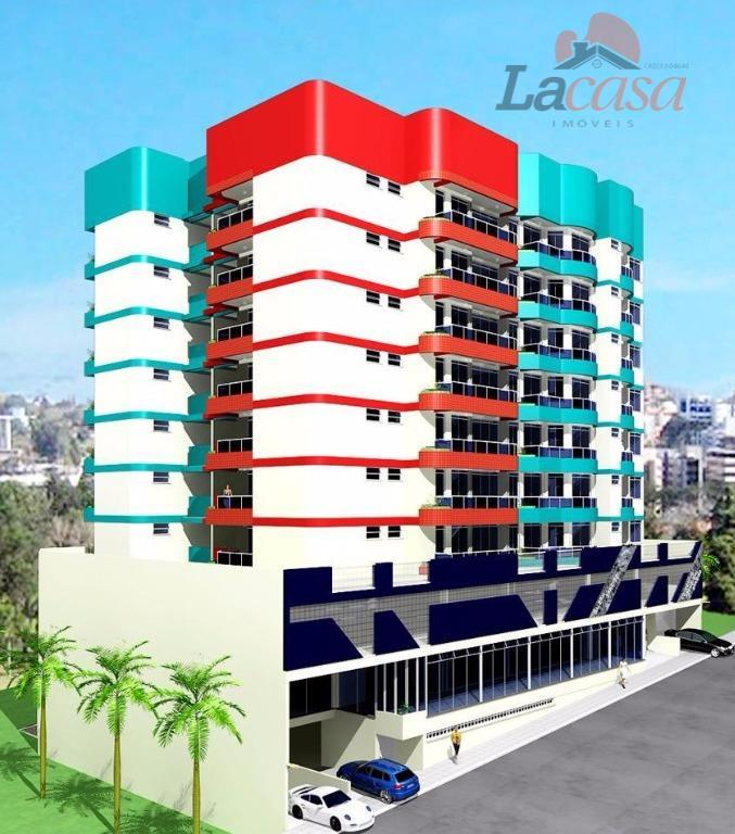 Apartamento residencial à venda, Centro, Guarapuava - AP0050.
