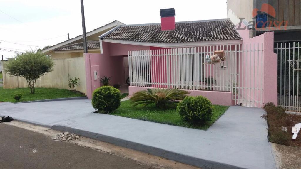 Casa residencial à venda, Alto da XV, Guarapuava.
