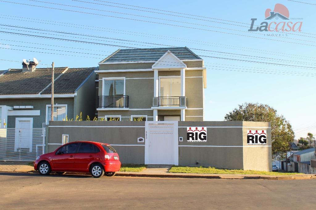 Sobrado residencial à venda, Alto da XV, Guarapuava.