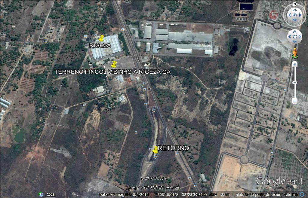 Terreno comercial à venda, Novo Horizonte, Horizonte.