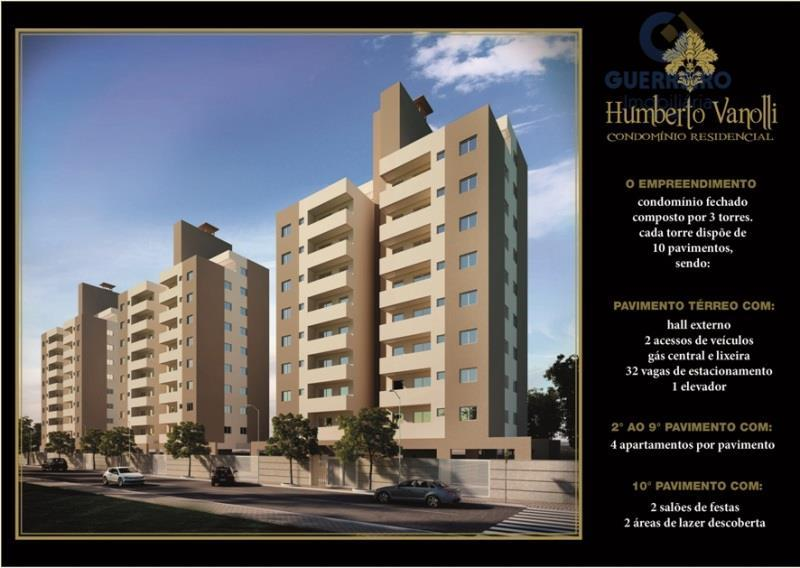 Apartamento  residencial à venda, São Judas, Itajaí.