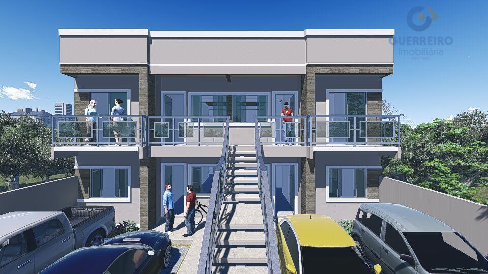 Apartamento residencial à venda, Espinheiros, Itajaí - AP0269.