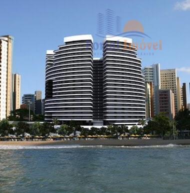 Lindíssimo apto com vista para o mar, completamente mobiliado e climatizado, alto padrão, 147m² - ed. Landscape