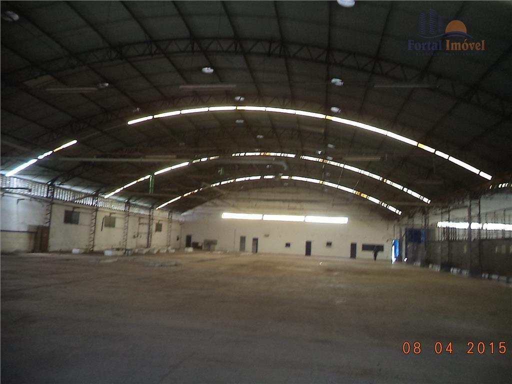 Galpão | Depósito  industrial 5.000m² em Terreno 20.611m² Jabuti, Fortaleza.