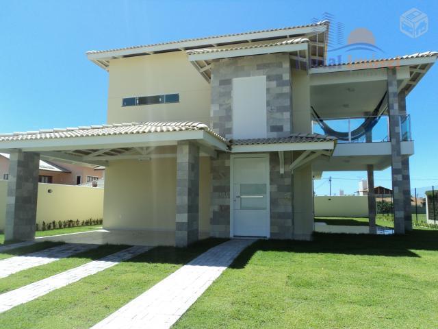 Excelente casa duplex com 4 suítes no Alphaville - Eusébio