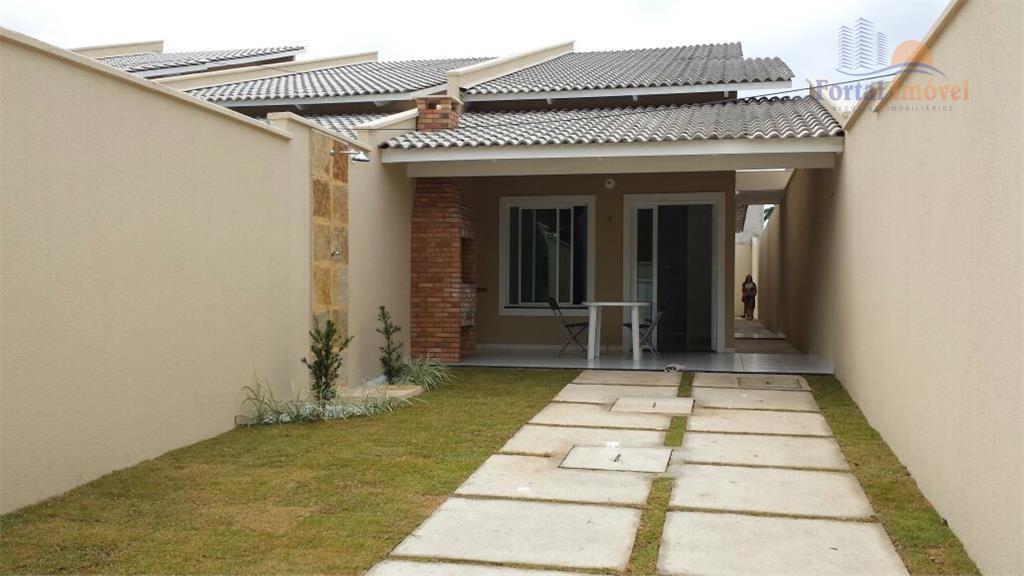 Casas novas com 75m², 2 suítes, churrasqueira, próx. Frotinha de Messejana