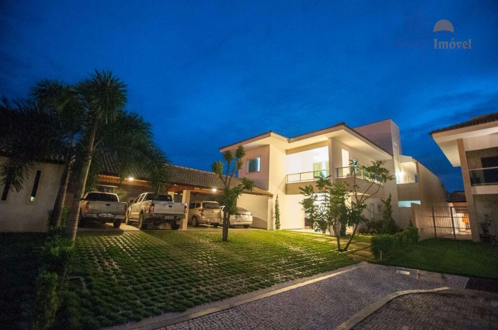 Casa duplex em condomínio, 380m², 4 suítes, 4 vagas, no Eusébio