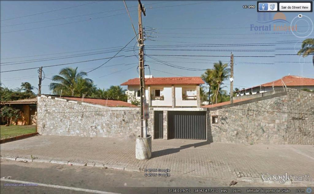 Casa com 705m² frente mar e frente para CE 090