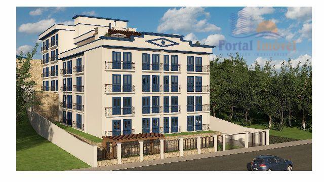 Apartamento com 2 dormitórios à venda, 52 m² por R$ 503.835 - Centro - Guaramiranga/CE