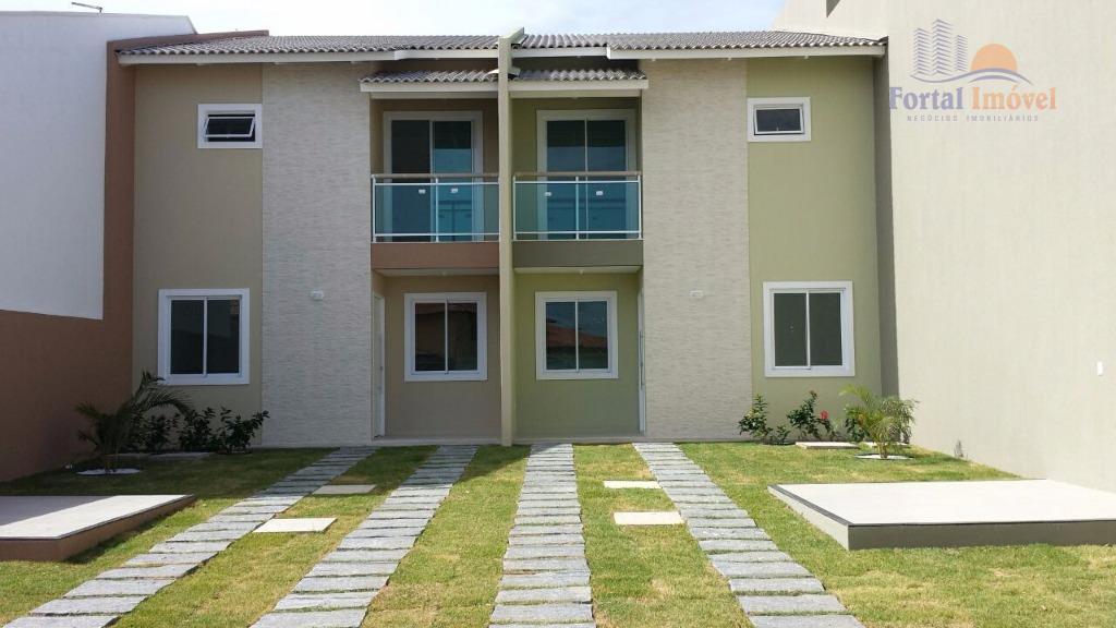 Casas duplex novas com 3 suítes, 117m², 2 vagas