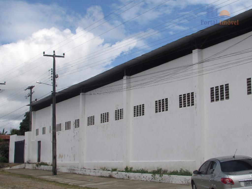 Galpão industrial para locação, Camurupim, Caucaia.