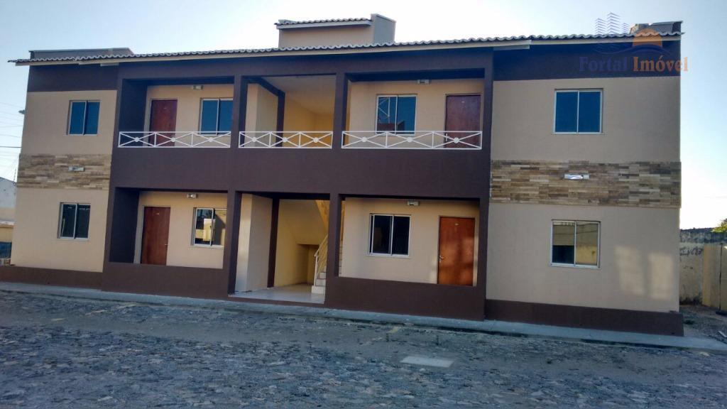 Apartamento com 2 dormitórios à venda, 57 m² por R$ 108.900,00 - Parque Potira - Caucaia/CE
