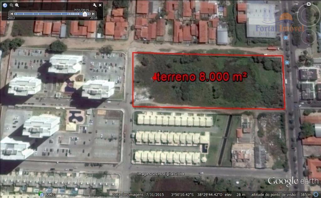 Terreno com 10.164 m² em Messejana