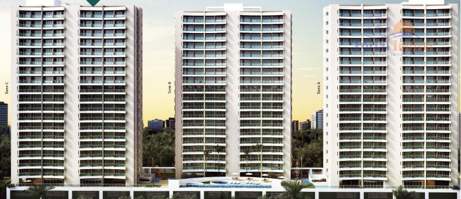 Apartamento 30,31m², Edson Queiroz, Fortaleza.