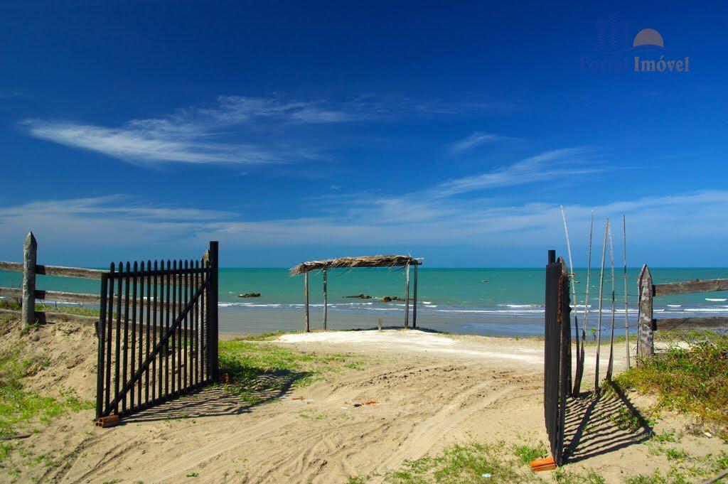 Excelente terreno pé na areia, na paradisíaca praia de Icapuí