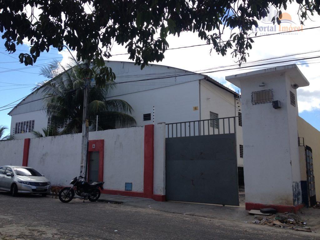 Galpão comercial à venda, Álvaro Weyne, Fortaleza.