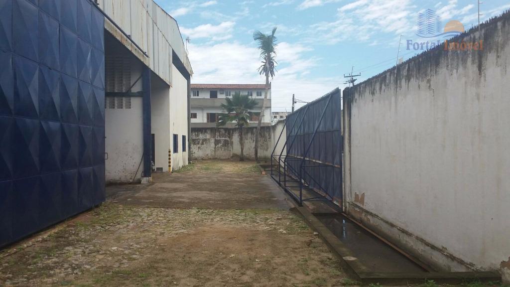 Galpão | Depósito 1.144m² comercial à venda, Barra do Ceará, Fortaleza.