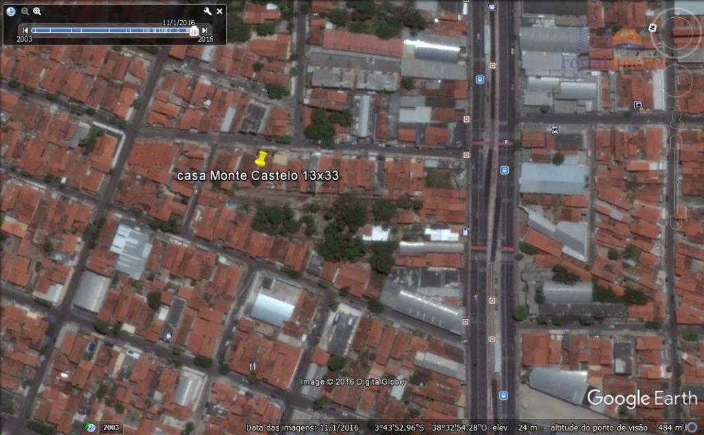 Terreno residencial à venda, Monte Castelo, Fortaleza.