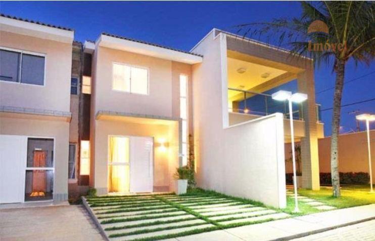 Casa duplex 70m² em condominio, Messejana, Fortaleza.