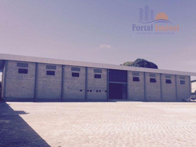 Galpão comercial para venda e locação, Guajiru, Fortaleza.