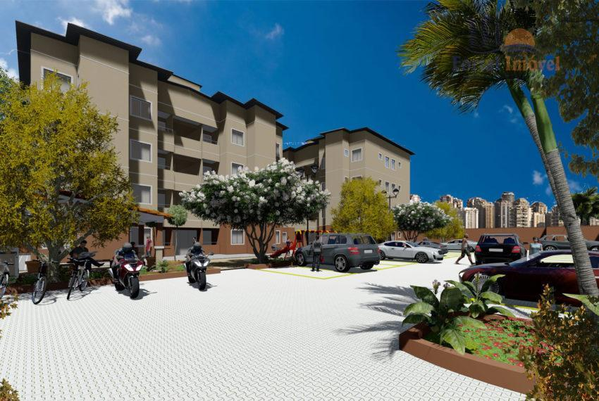 Apartamento residencial à venda, Ancuri, Itaitinga.