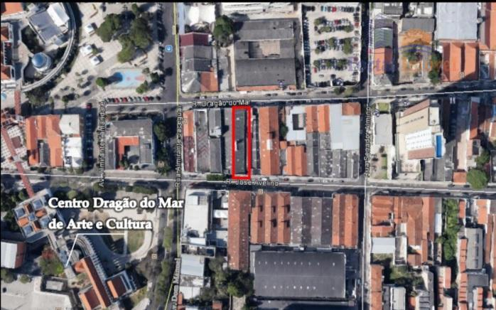 Terreno residencial à venda, Centro, Fortaleza.