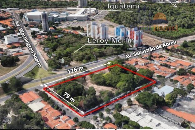 Terreno residencial à venda, Edson Queiroz, Fortaleza.