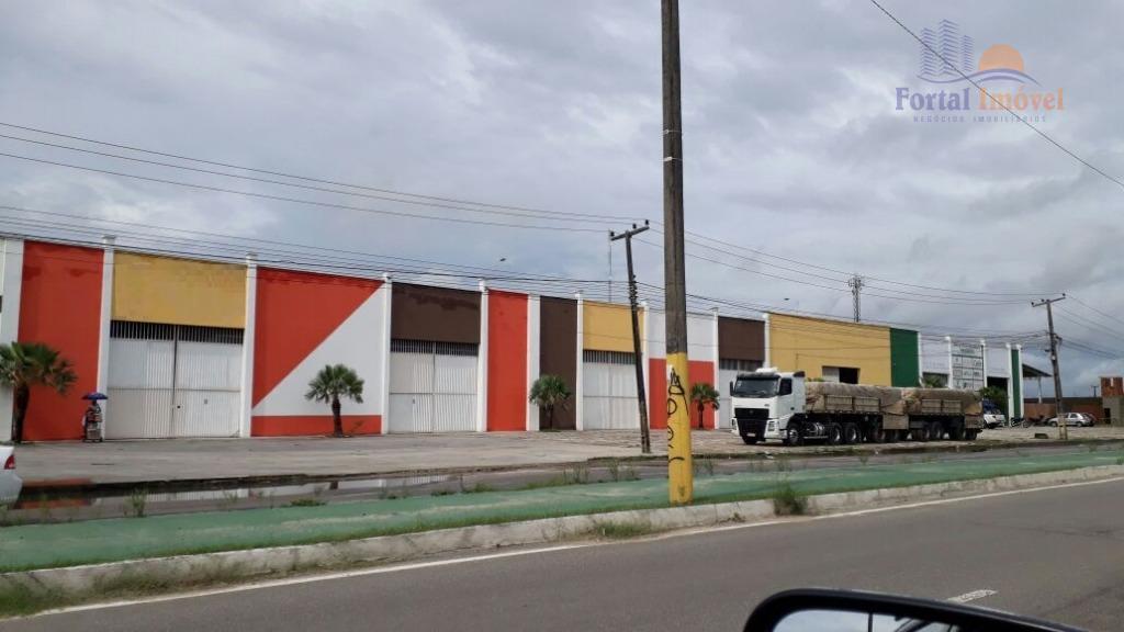 Galpão | Depósito 1.100m² comercial para locação, Conjunto Metropolitano, Caucaia.