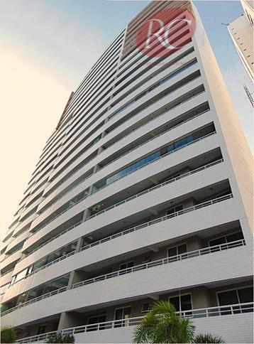 Apartamento localizado em frente do maior parque ecológico da cidade, Parque do Cocó.