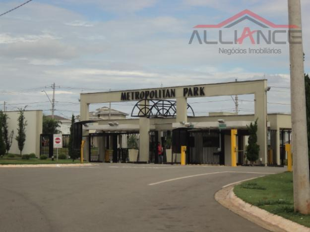 Excelente terreno à venda no Condomínio Metropolitan Park