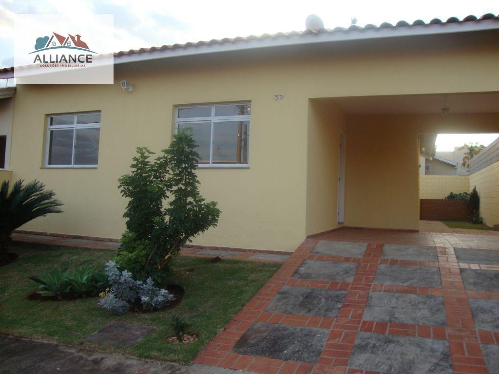 Casa residencial para locação, Condomínio Chácara Porto Do Sol, Paulínia - CA0055.