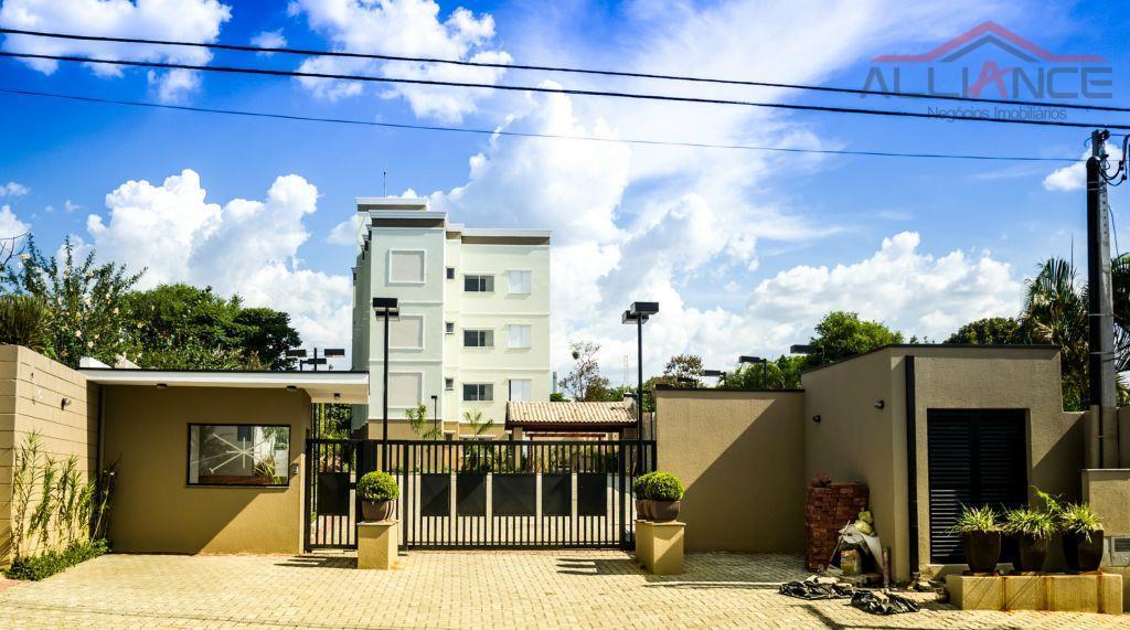 Apartamento residencial à venda, Vila José Paulino Nogueira, Paulínia.
