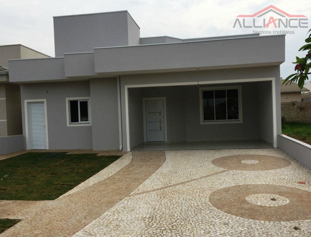Casa residencial à venda, Condomínio Campos do Conde, Paulínia.